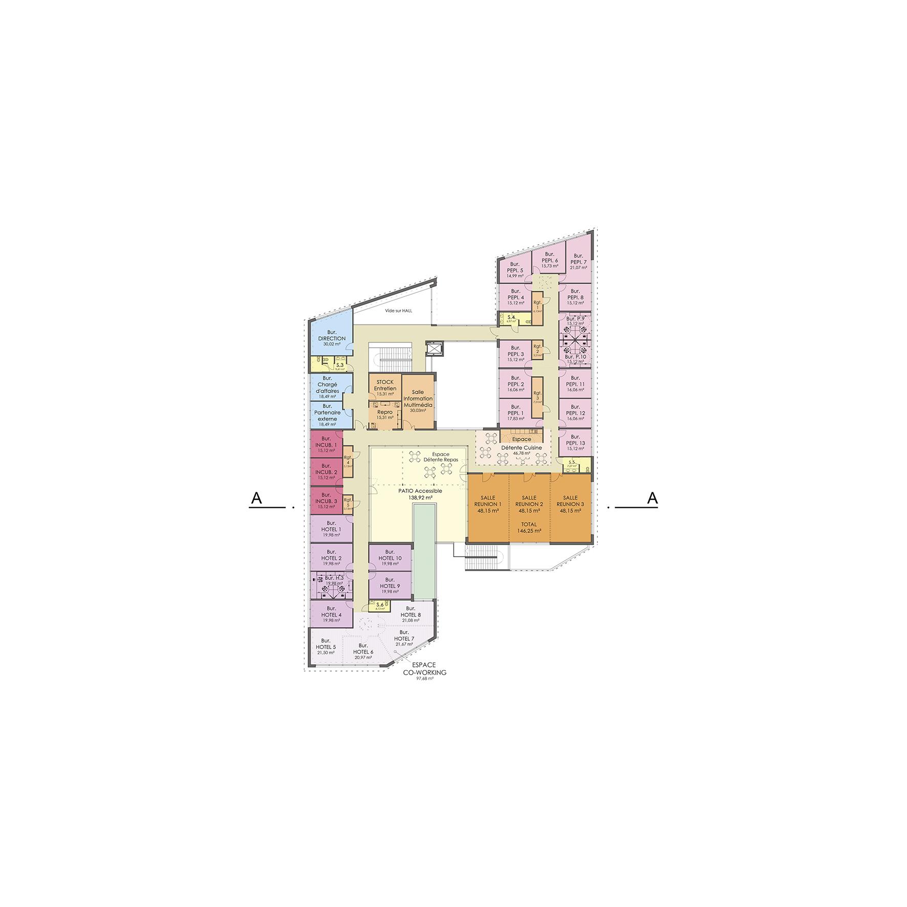 Pépinière entreprises Heliope BF Architecture 10