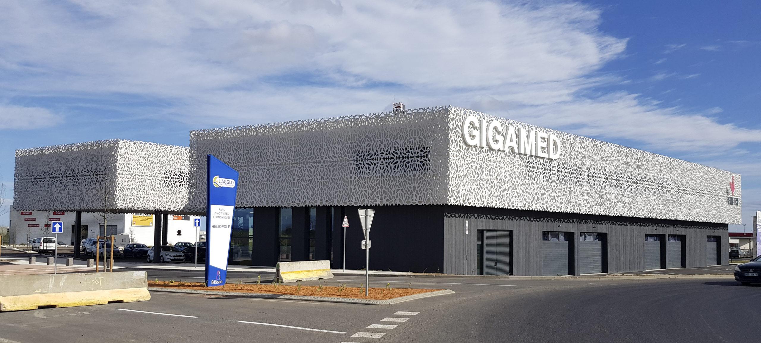 Chantier Pépinière entreprise, Gigamed 1