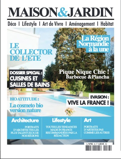 Parution Maison & Jardin BF Architecture 1