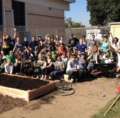1st Honest Employee Volunteer day: Creating a community garden