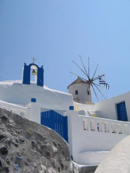 Blue - white (colors of Greece)
