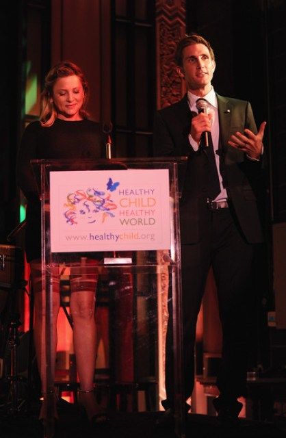 Healthy Child Healthy World Event - Jessica Capshaw and Christopher Gavigan