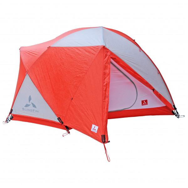 Slingfin - WindSaber - 2-Personen Zelt rot/rosa