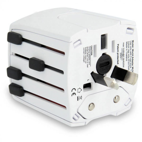 Lifeventure - World Travel Adaptor white Satechi 12 Port USB Hub with Power Adapter & 2 Control Switches Satechi 12 Port USB Hub with Power Adapter & 2 Control Switches sol 590 0196 0111 pic1 1