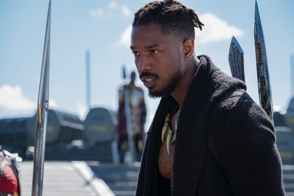 Michael B. Jordan as Erik 'Killmonger' Stevens