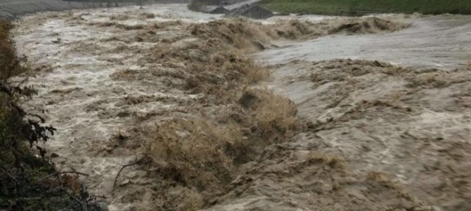 Hochwasser im Bezirk Villach Land