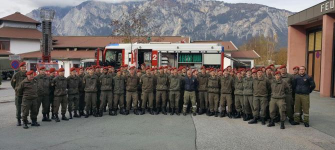 Bundesheer zu Besuch bei der Freiwilligen Feuerwehr Arnoldstein