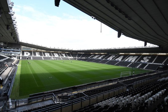 Derby County Football Club – First Heated Concourse in the UK
