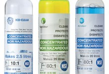 Photo of The First Food-Safe Non-hazardous Concentrated Cleaners For Refrigeration and AC from Gel-clear
