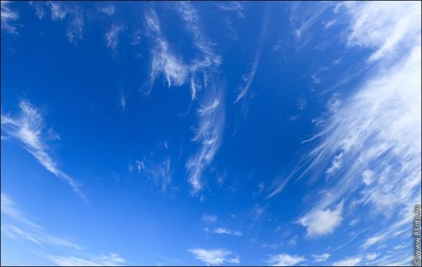 Панорама высокого разрешения с облаками фото большого размера