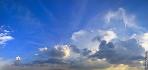 Голубое небо фото для натяжных потолков фото большого размера