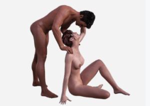 couple preparing for sex