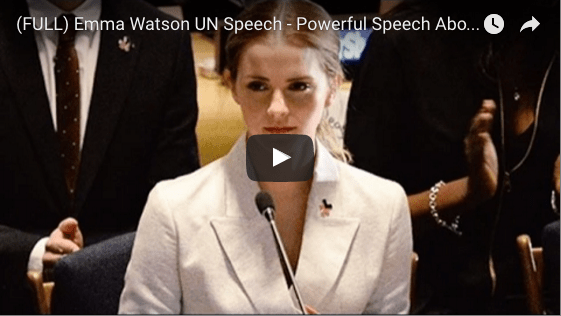 Why I'm Not Really Here For Emma Watson's U.N. Feminism Speech