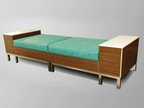 Modular Backless Bench CubeCart