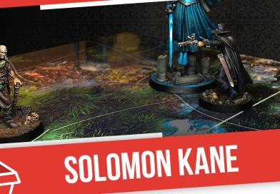 Распаковка игры Solomon Kane