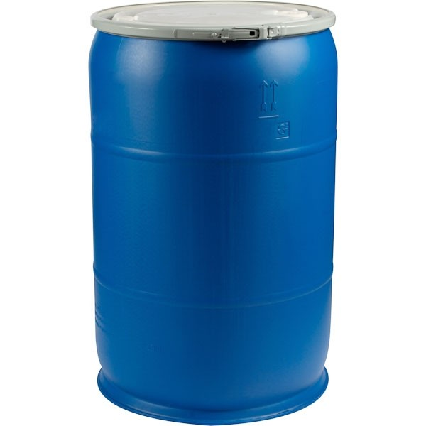 55 Gallon Poly Drum W Lid Reconditioned Reservoirs