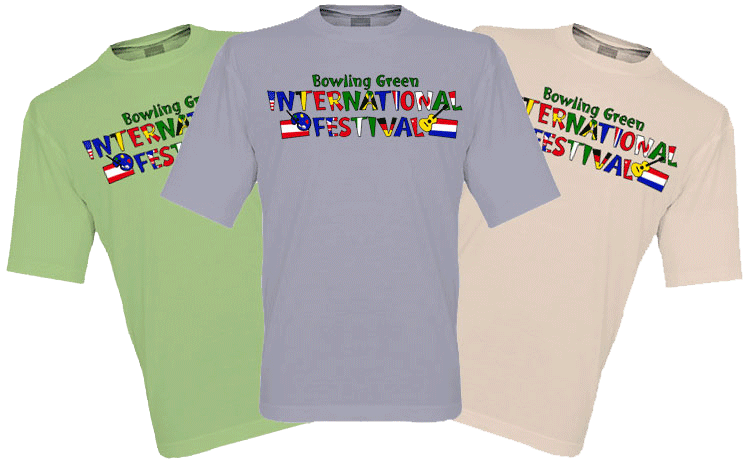 d2407dd4a59d7b All south-central Kentuckians are invited to create at T-shirt design for  the 2017 Bowling Green International Festival! Each year the festival  carries a ...