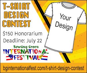 d2bb1165c64fc9 T-shirt design contest - Bowling Green International Festival