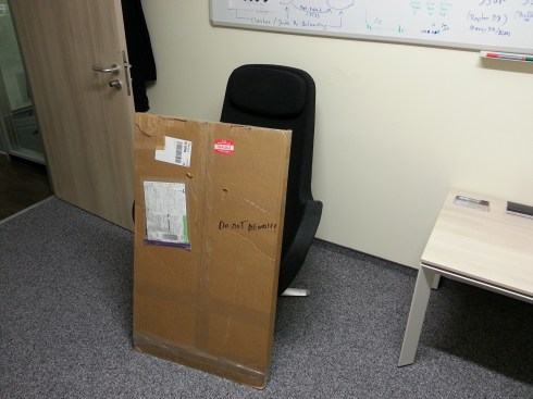 US Delivery to the office