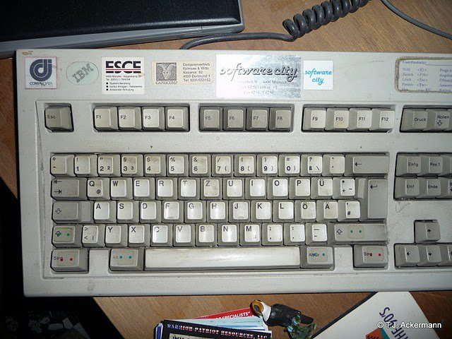 old keyboard ...