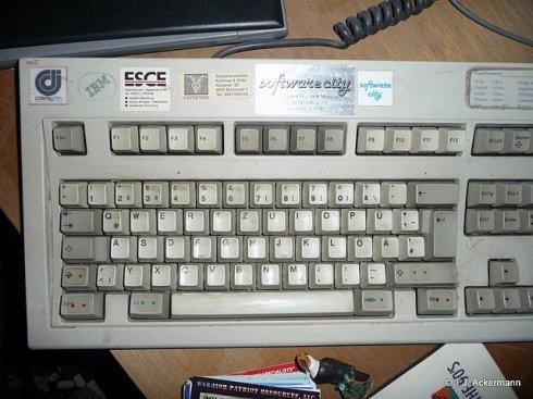 old keyboard ...