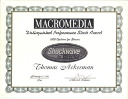 ShockWave Stock Award
