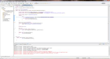 Robotium Screenshot