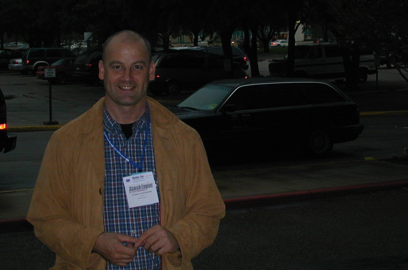 At the Searchengine Conference Dallas