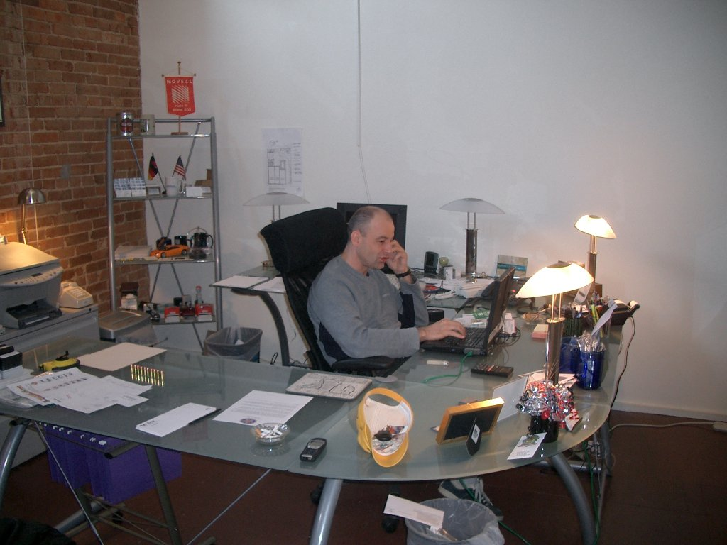 My Office at the Dallas Compound