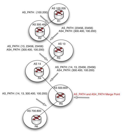 2-byte vs 4-byte ASNs