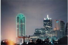 Dallas Skyline from the office