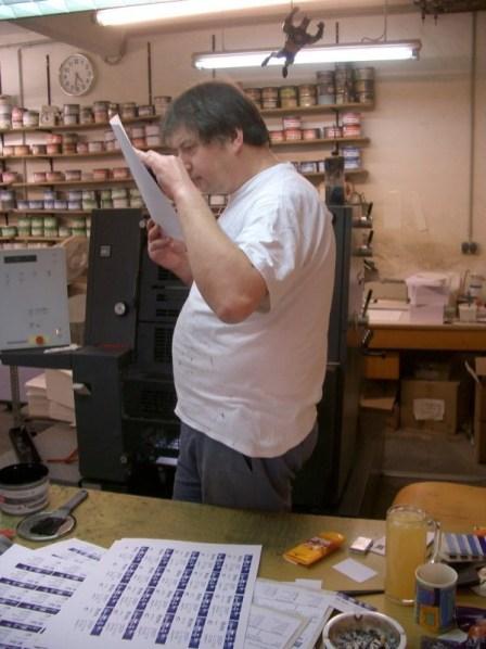Biz Card Production in Germany