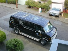 WiFI Wardrive Van in San Francisco - Twin Peaks