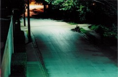 Dallas Compound at night