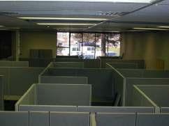Dilbert's Nightmare: ever-encroaching cubicle land