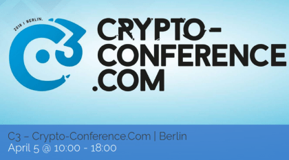 CryptoCon Berlin APR 2018