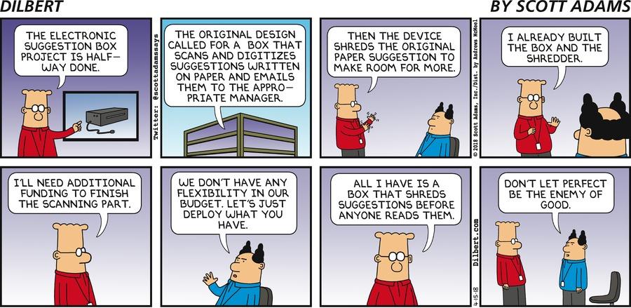 Dilbert Innovation 15 APR 2018