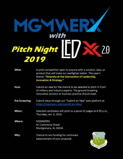 03 JAN 2019 - MGMWERX Pitchnight