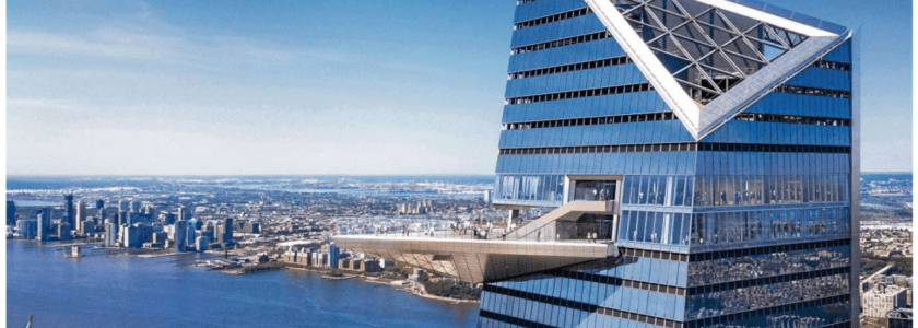 """""""The Edge"""" Hudson Yards opens in Manhattan NYC"""