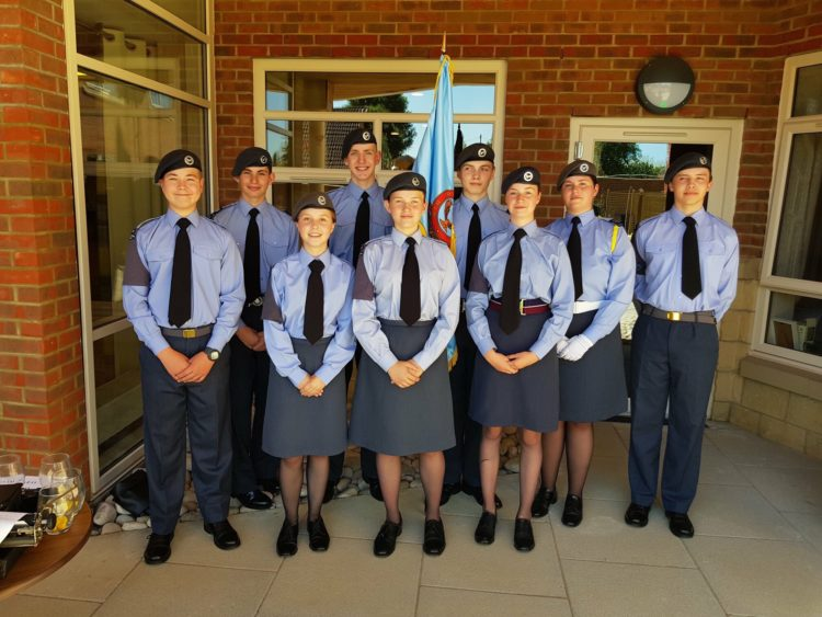 Downend Cadets Celebrate Armed Forces at Avonmere Care Home
