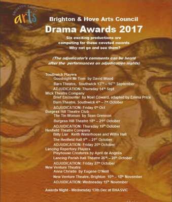 BHAC Drama Awards 2017