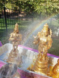 OCT 27th - Full day event-Abhishekam-Rainbow appeared from Lord Hanuma feet