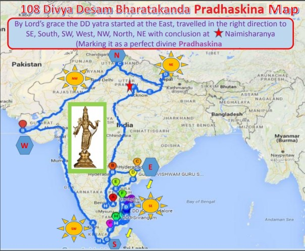 108 Divya Desam Yatra | Bhadradri Sri Rama Temple of USA
