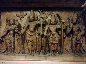 DD 76 - Sculpture of Sri Sita Rama Parivaram
