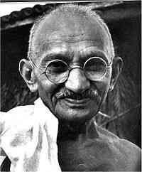 Gandhi - Violence leads to more violence