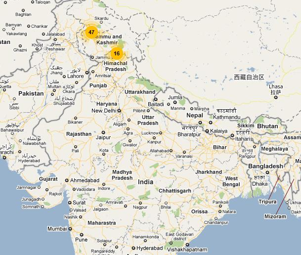 Islamic Terrorism in India - Where is it?