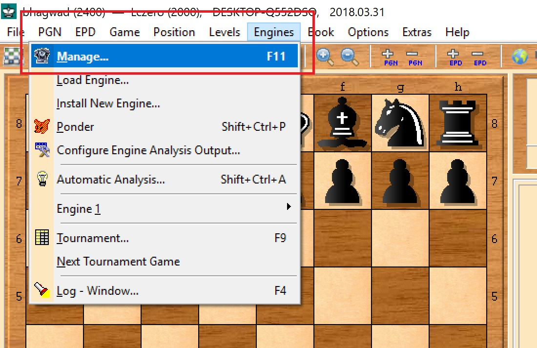 How to Run Leela Chess Engine (LCZero) in Arena at a