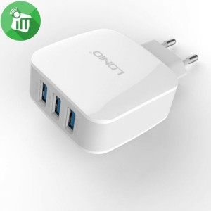 3 USB port charger2