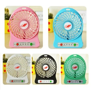 portable mini usb fan rechargeable