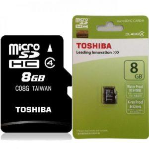 TOSHIBA MICRO SD 8GB